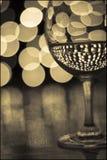Glas 2 van de wijn Royalty-vrije Stock Afbeelding