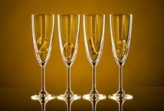 Glas 2013 Lizenzfreies Stockbild