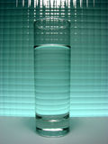 Glas Stockfoto