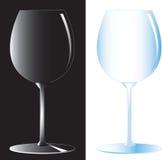 Glas 3 van de wijn Stock Afbeeldingen