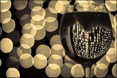 Glas 4 van de wijn Stock Foto's