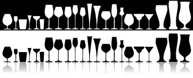 Glas stock illustratie