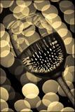 Glas 6 van de wijn Stock Afbeelding