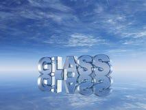 Glas vektor abbildung
