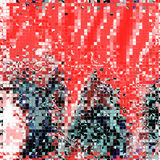 Glas abstracte achtergrond in roze tinten royalty-vrije illustratie