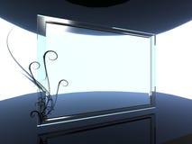 glas achtergrond Royalty-vrije Stock Foto