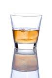 Glas alkoholisches Getränk Stockfotografie