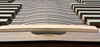 Glas auf dem Gebäude lizenzfreies stockfoto