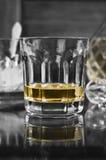Glas auf einem Stab Stockfotografie