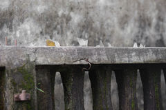 Glas auf Wand - thef Lizenzfreies Stockfoto