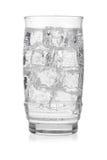 Glas bevroren mineraalwater Royalty-vrije Stock Afbeeldingen