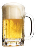 Glas bier Stock Afbeelding