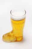 Glas bier Stock Fotografie