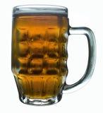 Glas bier Royalty-vrije Stock Fotografie
