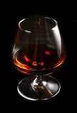Glas brandewijn stock foto