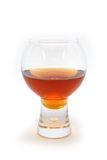Glas brandewijn Royalty-vrije Stock Fotografie