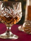 Glas Brandewijn royalty-vrije stock afbeeldingen