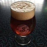 Glas Brooklyn-Bier Stockbilder
