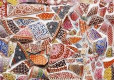 Glas and ceramic mosaic Royalty Free Stock Photos