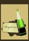 Glas champagne Stock Afbeeldingen