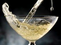 Glas champagne royalty-vrije stock afbeelding