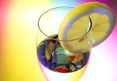 Glas champagne Royalty-vrije Stock Fotografie