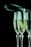 Glas of Champagne Stock Photo