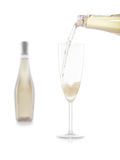 Glas of champagne Royalty Free Stock Photography