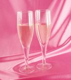 Glas Champagner lizenzfreie stockfotos