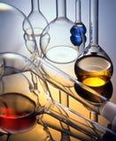 Glas - chemicus Stock Foto's