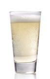 Glas cider stock foto