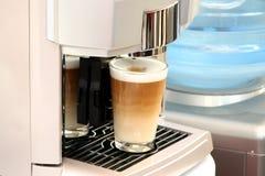 Glas coffe Lizenzfreie Stockfotos