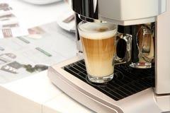 Glas coffe Lizenzfreies Stockbild