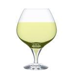 Glas cognac Stock Fotografie