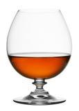 Glas cognac Royalty-vrije Stock Afbeelding