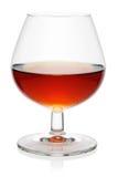 Glas cognac. royalty-vrije stock foto