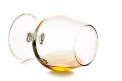 Glas cognac stock foto
