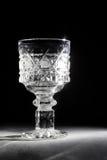 Glas in dark Royalty-vrije Stock Afbeelding