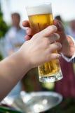 Glas de bière Photo libre de droits