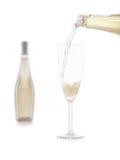 Glas de Champagne Photographie stock libre de droits