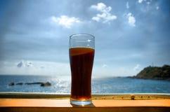 Glas de la bebida Foto de archivo
