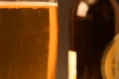 Glas de la cerveza - serie foto de archivo libre de regalías