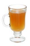 Glas de Overwogen Cider van de Appel Stock Foto