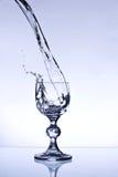 Glas de vin d'isolement Image libre de droits