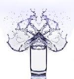 Glas del agua Fotos de archivo libres de regalías