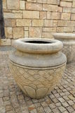 Glas in der römischen Art Lizenzfreies Stockfoto