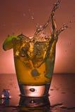Glas des alkoholischen Getränks Stockbild