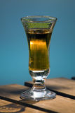Glas des Getränks Stockfotografie