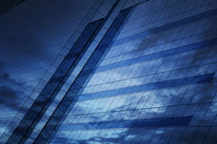Glas des modernen Turms Stockbilder