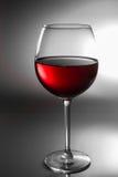Glas des Rotweins Stockbild